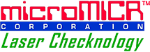 microMICR Corporation - MICR Font & Toner Products for Laser Check Printing